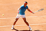 Rafael Nadal, Spain, during Madrid Open Tennis 2015 match.May, 9, 2015.(ALTERPHOTOS/Acero)