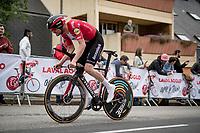 Kasper Asgreen (DEN/Deceuninck - Quick Step)<br /> <br /> Stage 5 (ITT): Time Trial from Changé to Laval Espace Mayenne (27.2km)<br /> 108th Tour de France 2021 (2.UWT)<br /> <br /> ©kramon