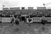 Pix:Michael Steele/SWpix...Bradford Northern v Salford. Rugby League. From the book 'When Push Comes to Shove'....COPYRIGHT PICTURE>>SIMON WILKINSON..Rugby League Cheerleaders, Bradford Northern v Salford.