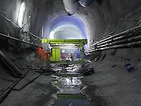 Alptransit, NEAT, Ceneri Basistunnel, Eingang Sigirino