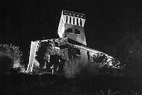 Il castello di Cigognola, paese in provincia di Pavia --- Castle of Cigognola, small village in the province of Pavia