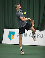 Rotterdam, Netherlands, Januari 28, 2017, ABNAMROWTT, Supermatch, Bas Pijl<br /> Photo: Tennisimages/Henk Koster