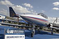 - model of new advanced training aircraft of IAI, Israel Aircraft Industries....- modello di nuovo aereo da addestramento avanzato della  IAI, Industrie Aeronautiche Israeliane