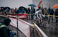 CX World Champion Mathieu Van Der Poel (NED/Correndon-Circus)<br /> <br /> Superprestige cyclocross Hoogstraten 2019 (BEL)<br /> Elite Men's Race<br /> <br /> ©kramon