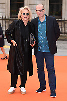 Jennifer Saunders and Ade Edmondson<br /> at the Royal Acadamy of Arts Summer Exhibition opening party 2017, London. <br /> <br /> <br /> ©Ash Knotek  D3276  07/06/2017