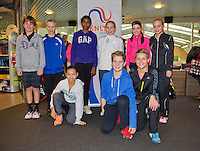November 30, 2014, Almere, Tennis, Winter Youth Circuit, WJC,  Prizegiving,<br /> Photo: Henk Koster