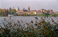 Mantova, veduta dal Lago Inferiore --- Mantua, view from lake Inferiore