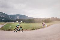 Peter Sagan (SVK/Bora-Hansgrohe) over the gravel roads up the Montée du plateau des Glières (HC/1390m)<br /> <br /> Stage 10: Annecy > Le Grand-Bornand (159km)<br /> <br /> 105th Tour de France 2018<br /> ©kramon