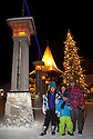 03/12/15<br /> <br /> Tel: 07445 272041<br /> <br /> The Camacho family Sadie, Diana, Sam (9) and Salvador from Derby   at The Arctic Circle Santa Village.<br /> <br /> Sick children are flown from East Midlands Airport to visit Santa and spend the day in Lapland. When You Wish Upon A Star have been arranging these festive flights for 24 years.<br />  <br /> All Rights Reserved: F Stop Press Ltd. +44(0)1335 418365   +44 (0)7765 242650 www.fstoppress.com