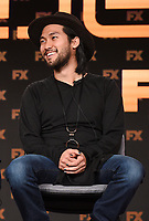 "PASADENA, CA - JANUARY 9: Cast members Jin Ha attends the panel for ""Devs"" during the FX Networks presentation at the 2020 TCA Winter Press Tour at the Langham Huntington on January 9, 2020 in Pasadena, California. (Photo by Frank Micelotta/FX Networks/PictureGroup)"