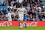 Real Madrid's Marcos Llorente during Copa del Rey match between Real Madrid and UD Melilla at Santiago Bernabeu Stadium in Madrid, Spain. December 06, 2018. (ALTERPHOTOS/A. Perez Meca)