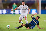 (L) Cristiano Ronaldo of Real Madrid CF being followed by (R) Mateo Kovacic of FC Internazionale Milano during the FC Internazionale Milano vs Real Madrid  as part of the International Champions Cup 2015 at the Tianhe Sports Centre on 27 July 2015 in Guangzhou, China. Photo by Hendrik Frank / Power Sport Images