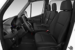 Front seat view of a 2019 Mercedes Benz Sprinter Base 4 Door Combi front seat car photos