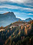 Italien, Venetien, Provinz Belluno, Colle Santa Lucia: Bergdorf in den Dolomiten | Italy, Veneto, Province Belluno, Colle Santa Lucia: mountain village in the Dolomites