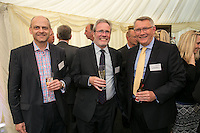 David Smith of Strata Real Estate, Tim Clarke of UHY and Mark Chandler of Lloyds Banking