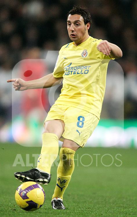 Villareal's Santiago Cazorla during La Liga match, January 04, 2009. (ALTERPHOTOS).