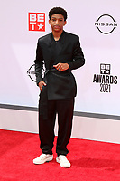 LOS ANGELES - JUN 27:  Lonnie Chavis at the BET Awards 2021 Arrivals at the Microsoft Theater on June 27, 2021 in Los Angeles, CA