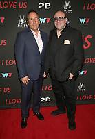 WEST HOLLYWOOD, CA - SEPTEMBER 13: Frank Florio, George V. Andreakos, at the LA Premiere Screening Of I Love Us at Harmony Gold in West Hollywood, California on September 13, 2021. Credit: Faye Sadou/MediaPunch