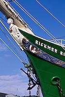 Deutschland, Hamburg, Museumsschiff Rickmer Rickmers