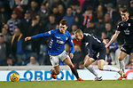 27.02.2019: Rangers v Dundee: Ryan Jack and Kenny Miller