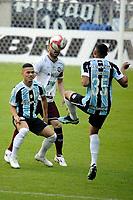 PORTO ALEGRE, RS, 09.05.2021 - GREMIO - CAXIAS - O jogador Darlan, da equipe do Grêmio, na partida entre Grêmio e Caxias, válida pela semi final do Campeonato Gaúcho 2021, no estádio Arena do Grêmio, em Porto Alegre, neste domingo (9).