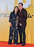 "(L-R) Director Quentin Tarantino and Producer Shannon McIntosh attend the Japan premiere for ""Once upon a time in Hollywood"" at the Tokyo Midtown Hibiya in Tokyo, Japan on August 26, 2019. (Photo by AFLO)"