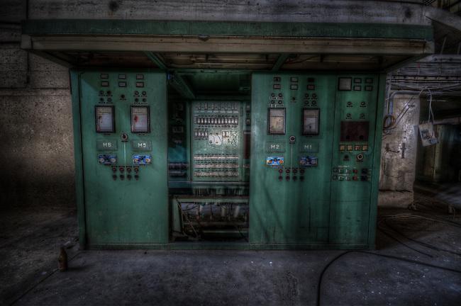 Old East German power station