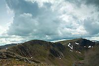 The Northern Corries, Stob Coire an Lochain and Cairn Lochain from beneath Cairn Gorm, Cairngorm National Park, Badenoch & Speyside