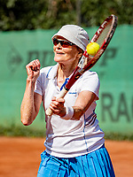 Hilversum, The Netherlands, September 2, 2018,  Tulip Tennis Center, NKS, National Championships Seniors, Women's 60+ final: Nora Blom (NED) <br /> Photo: Tennisimages/Henk Koster