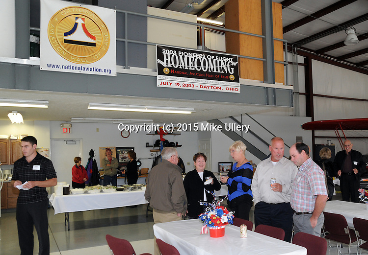 National Aviation Hall of Fame Hanger Party on October 1, 2015 at Moraine Air Park.