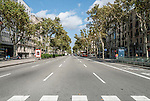 Passeig de Gràcia is one of the major avenues in Barcelona, Spain and one containing several of the city's most celebrated pieces of architecture.<br />
