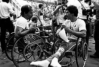 May 30, 1982 File Photo - Montreal marathon - Andre Viger