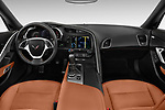 Stock photo of straight dashboard view of a 2019 Chevrolet Corvette Stingray 3LT 2 Door Coupe
