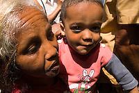 Zuschauer auf der Callejon de Hamel, Habana, Cuba