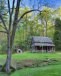 Henry Whitehead Place in Cades Cove, Great Smoky Mountains National Park.