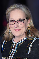"""Meryl Streep<br /> arriving for the """"Mary Poppins Returns"""" premiere at the Royal Albert Hall, London<br /> <br /> ©Ash Knotek  D3467  12/12/2018"""