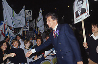 Montreal (Qc) CANADA - 1985 File photo  - Guy Bertrand,