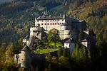 Oesterreich, Salzburger Land, Pongau, Werfen im Salzachtal: Festung Hohenwerfen | Austria, Salzburger Land, Pongau, Werfen at Salzach Valley: Hohenwerfen Castle