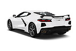 Car pictures of rear three quarter view of 2020 Chevrolet Corvette-Stingray 3LT 3 Door Targa Angular Rear
