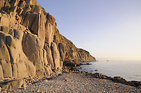 - Capraia island (Tuscan Archipelago), rock in the bay of the port<br />