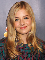 NEW YORK CITY, NY, USA - SEPTEMBER 10: Singer Jackie Evancho arrives at the 'America's Got Talent' Season 9 Post Show Red Carpet held at the Radio City Music Hall on September 10, 2014 in New York City, New York, United States. (Photo by Celebrity Monitor)