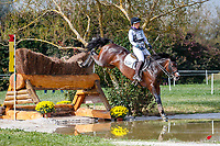 AUT-Katrin Khoddam-Hazrati rides Oklahoma 2 during the Cross Country. 2021 SUI-FEI European Eventing Championships - Avenches. Switzerland. Saturday 25 September 2021. Copyright Photo: Libby Law Photography