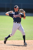 March 21st 2008:  Michael Fisher of the Atlanta Braves minor league system during Spring Training at Tiger Town in Lakeland, FL.  Photo by:  Mike Janes/Four Seam Images
