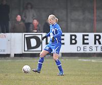 AA Gent Ladies - Lommel : Franke Vandekerckhove<br /> foto DAVID CATRY / Nikonpro.be