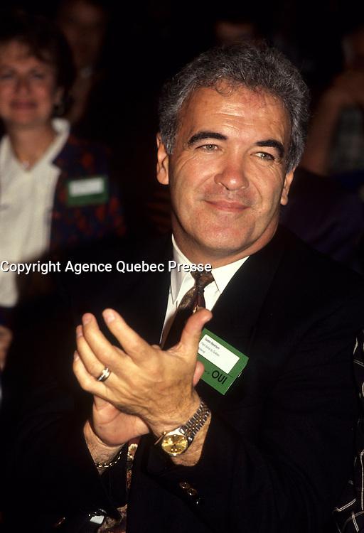 Montreal (Qc) Canada  file Photo - 1992 -, Gaston Blackburn