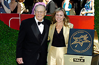 Toronto (ON), June 9, 2007 - Eight, new, internationally recognized Canadian luminaries inducted into Canada s Walk of Fame. Representing the worlds of sports, music, film, theatre and television, the 2007 inductees into Canada's Walk of Fame are: Johnny Bower, Nickelback, Rick Hansen, Gordon Pinsent, Jill Hennessey, Ivan Reitman, Catherine O Hara, and Lloyd Robertson.<br /> <br /> Hockey Hall of Famer Johnny Bower.
