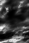 Stratocumulus Clouds stormy weather nering sunset