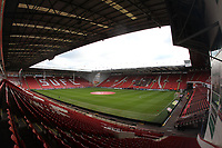 A general view of Bramall Lane the home of Sheffield Utd<br /> <br /> Photographer Mick Walker/CameraSport<br /> <br /> The EFL Sky Bet Championship - Sheffield United v Bolton Wanderers - Saturday 2nd February 2019 - Bramall Lane - Sheffield<br /> <br /> World Copyright © 2019 CameraSport. All rights reserved. 43 Linden Ave. Countesthorpe. Leicester. England. LE8 5PG - Tel: +44 (0) 116 277 4147 - admin@camerasport.com - www.camerasport.com