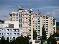 Wohnblocks in Banska Bystrica, Banskobystricky kraj, Slowakei, Europa<br /> Block of flats in Banska Bystrica, Banskobystricky kraj, Slovakia, Europe