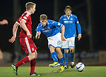 St Johnstone v Aberdeen.....07.12.13    SPFL<br /> David Wotherspoon in action<br /> Picture by Graeme Hart.<br /> Copyright Perthshire Picture Agency<br /> Tel: 01738 623350  Mobile: 07990 594431